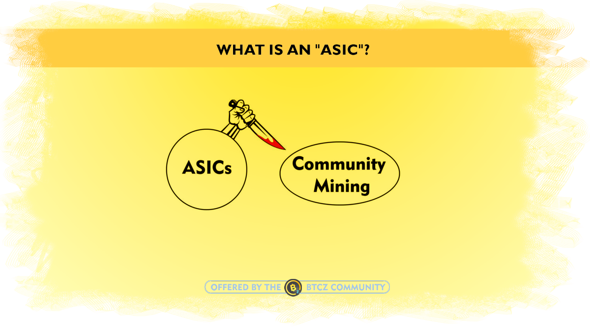 What is an ASIC miner?