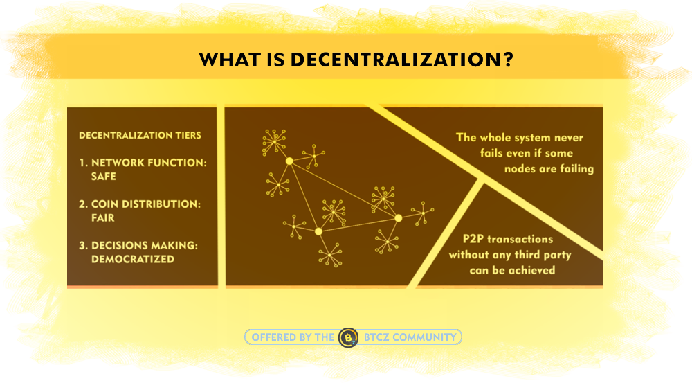 What is Decentralization for cryptocurrencies
