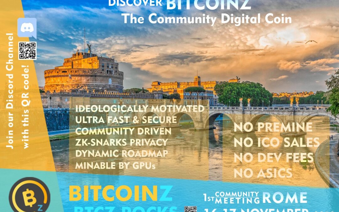The first BTCZ Community Meeting  ever !