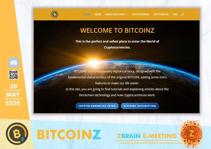 1st Z-Brain online meeting!