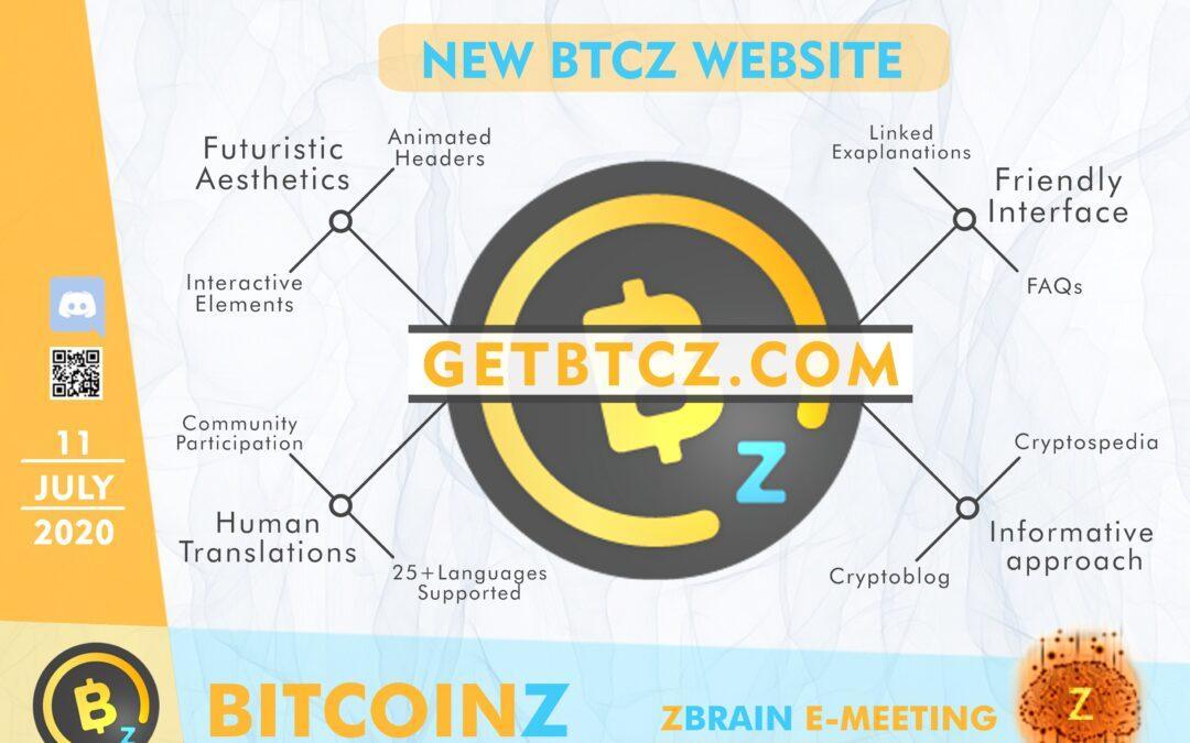 New Site for BITCOINZ (BTCZ)