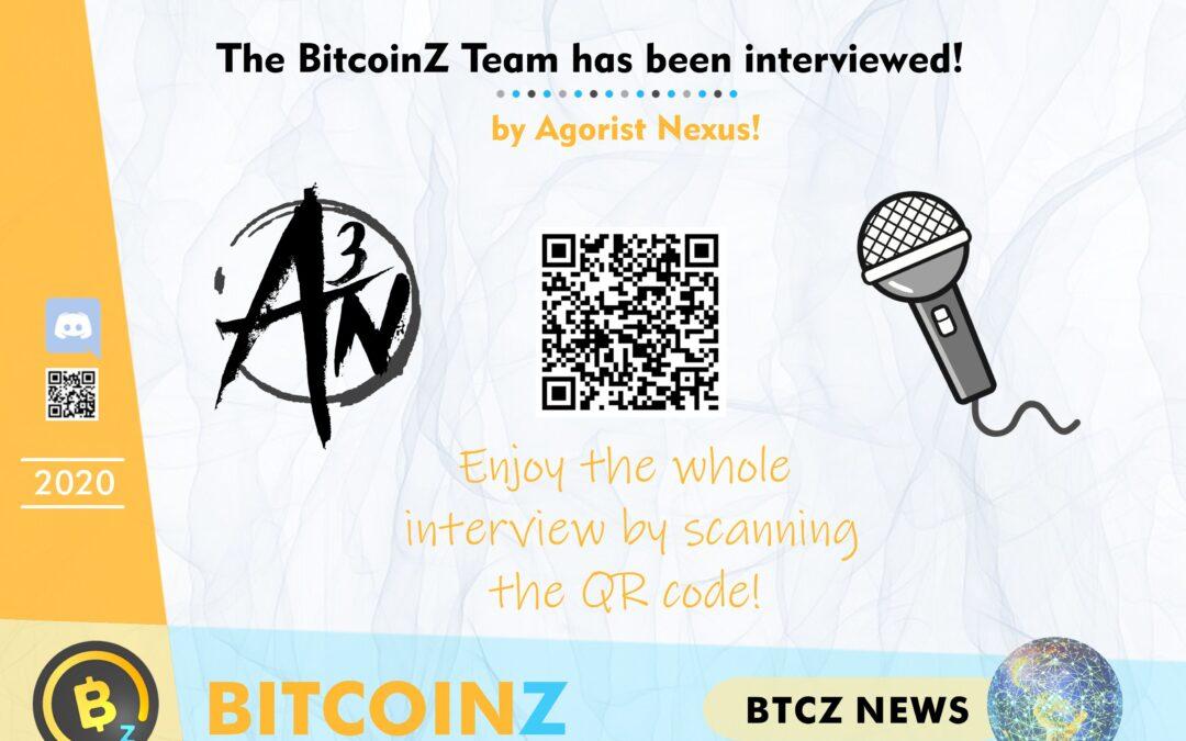 Interview of the BITCOINZ Team!