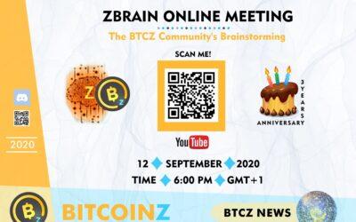 Invitation Zbrain Meeting September 2020!