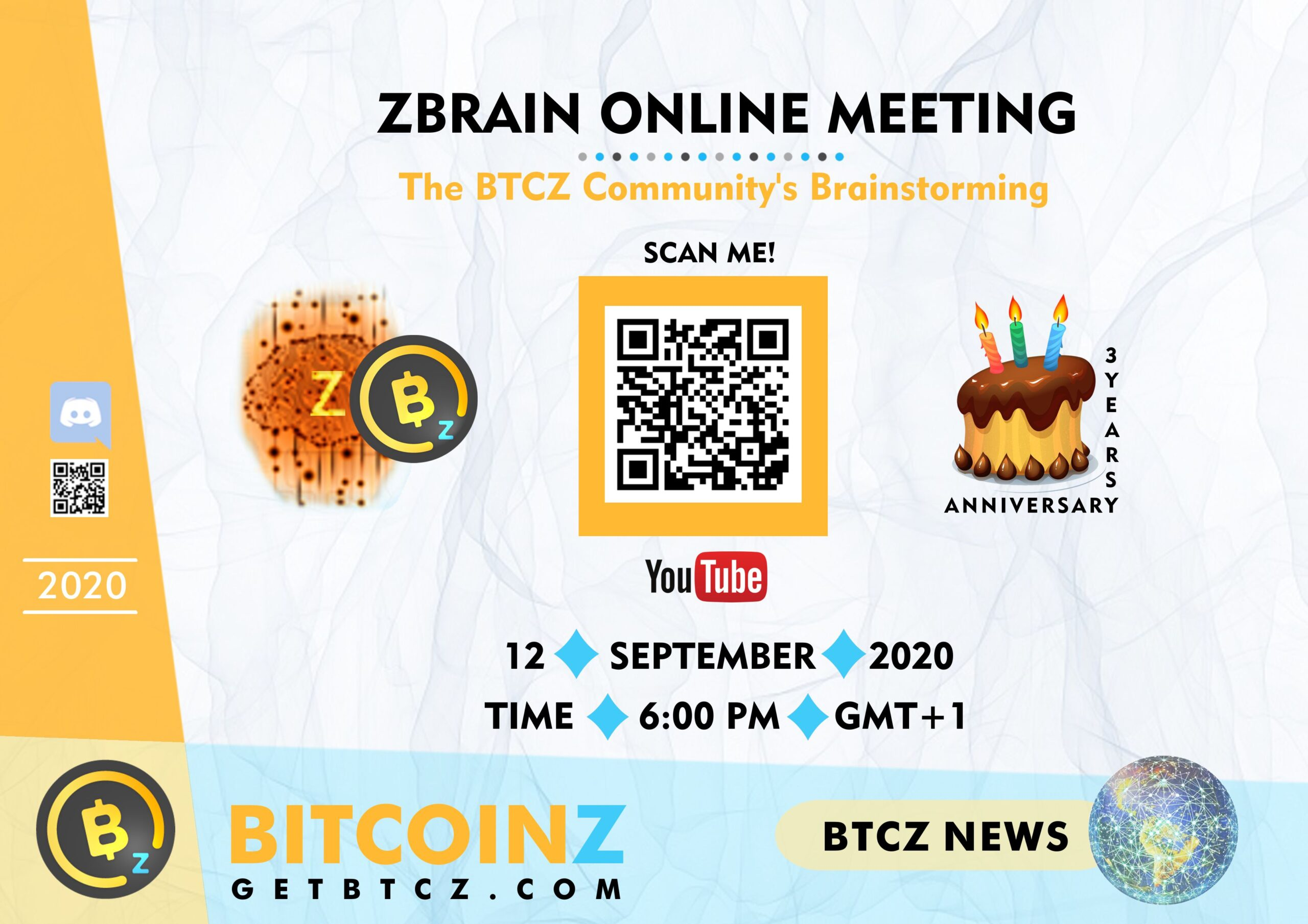 Invitation Zbrain Meeting September 2020!