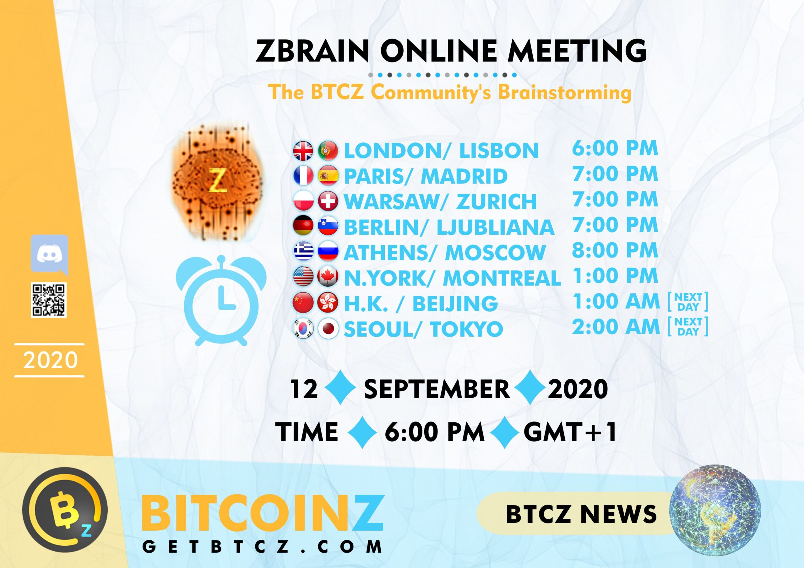 September ZBRAIN Meeting: COUNTDOWN!