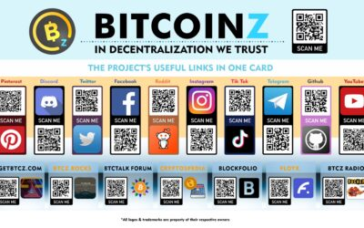 Every link for BitcoinZ in just one card!
