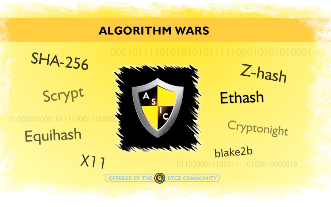 ASIC resistant algorithms