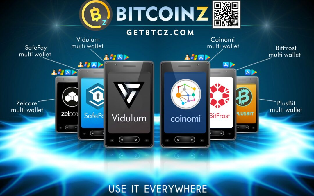 BITCOINZ Wallet App options!