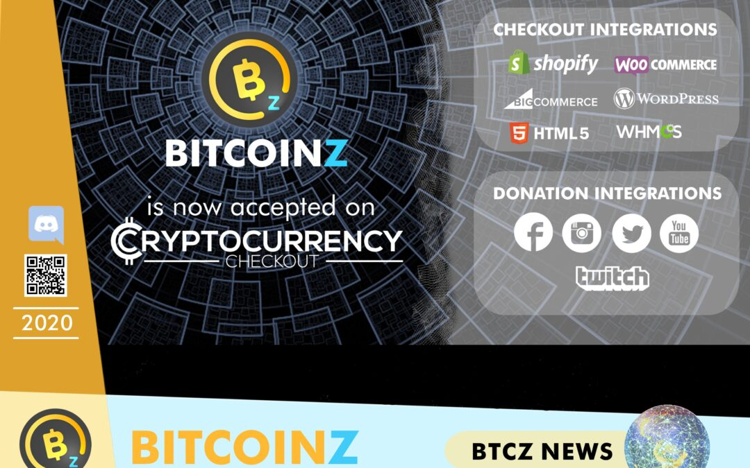 BITCOINZ in Cryptocurrency Checkout!