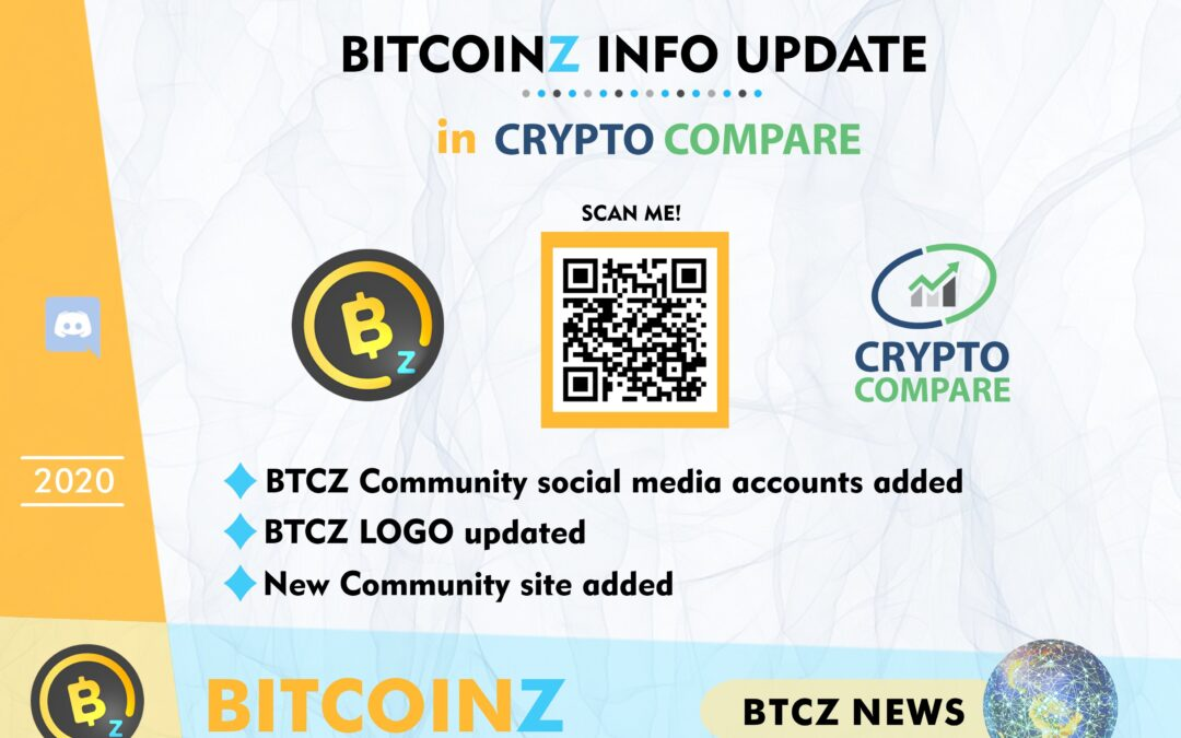 BITCOINZ Update in Crypto Compare