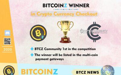 BITCOINZ 1st in Votes!