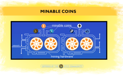 What is a minable and a non-mineable coin?