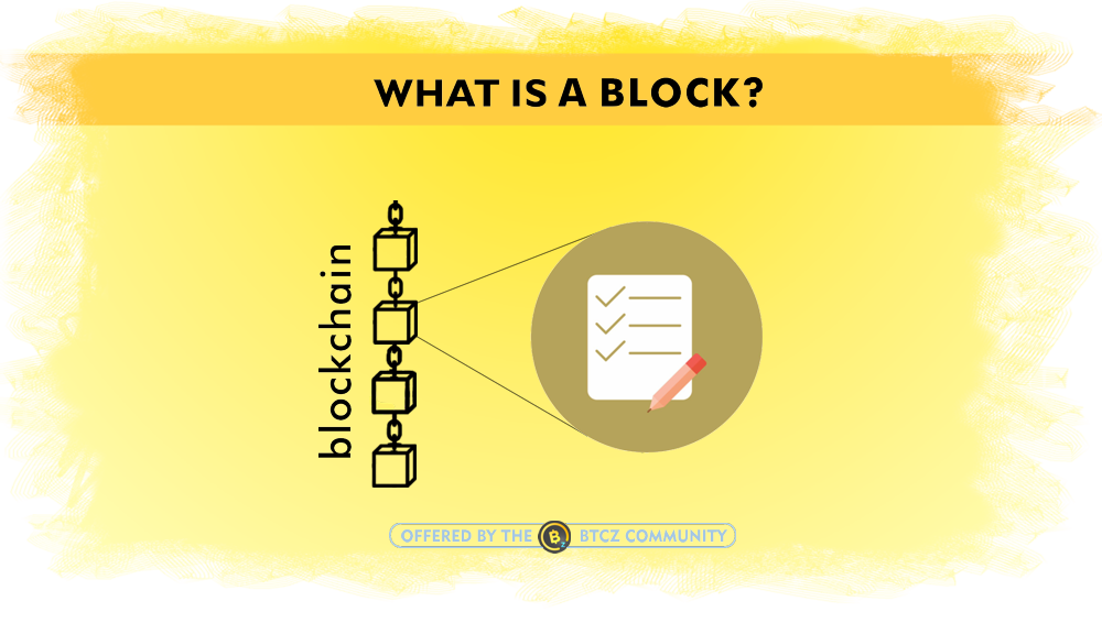What is a block and blockchain
