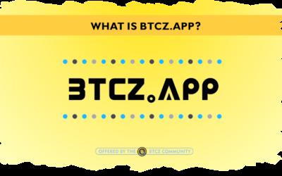 "What is ""btcz.app""?"