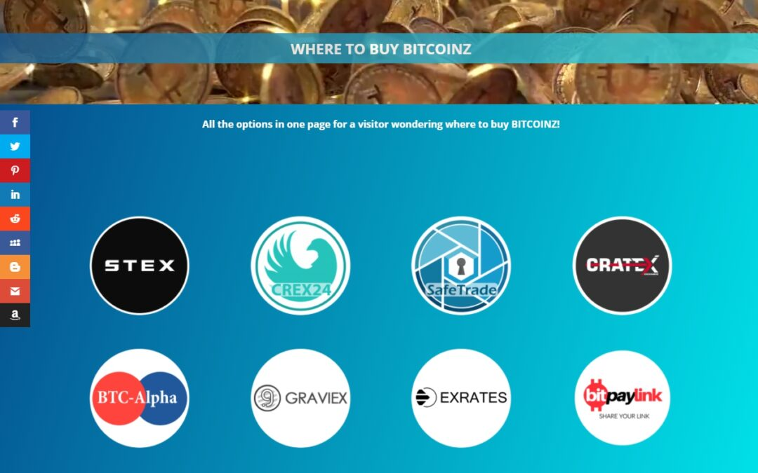 Where to buy BitcoinZ: All options in one page