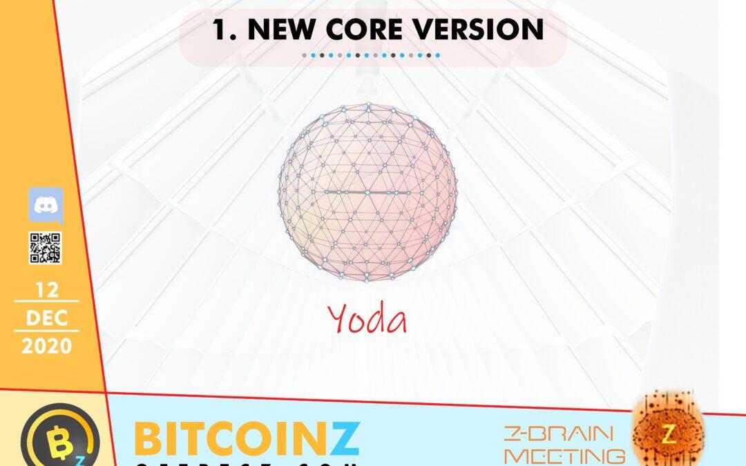 December 2020 ZBrain Meeting