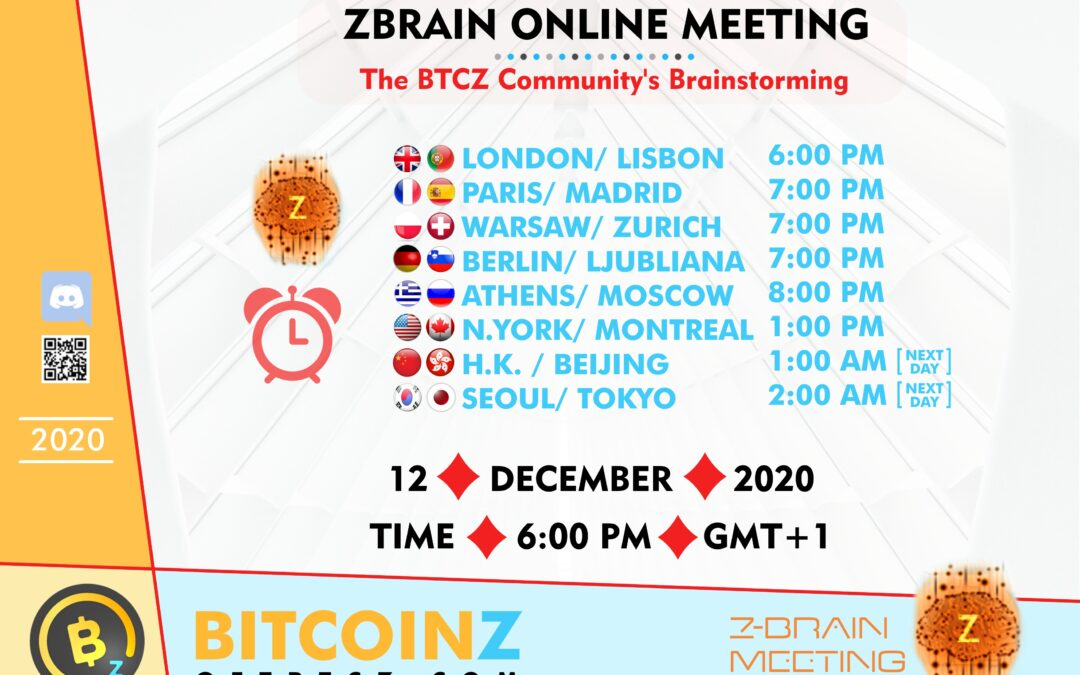 ZBRAIN Meeting 12-12-20 Link!