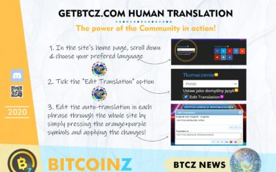 Community Translation for the BITCOINZ site!