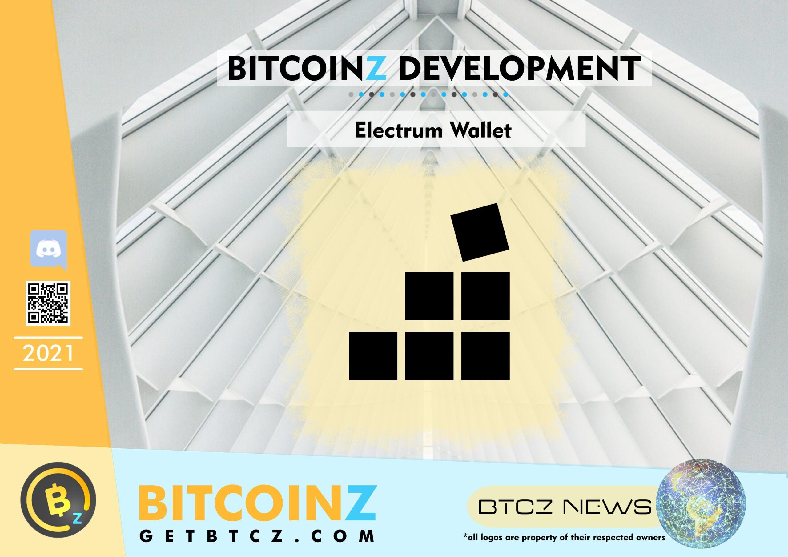 BITCOINZ ELECTRUM WALLET COMPLETED