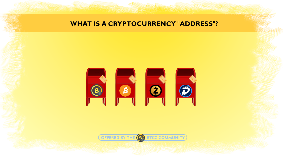 What is a cryptocurrency address