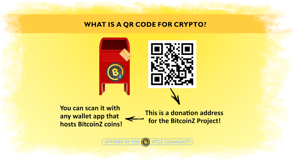 what is a QR for crypto payments