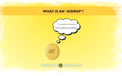 "What is an ""airdrop""?"