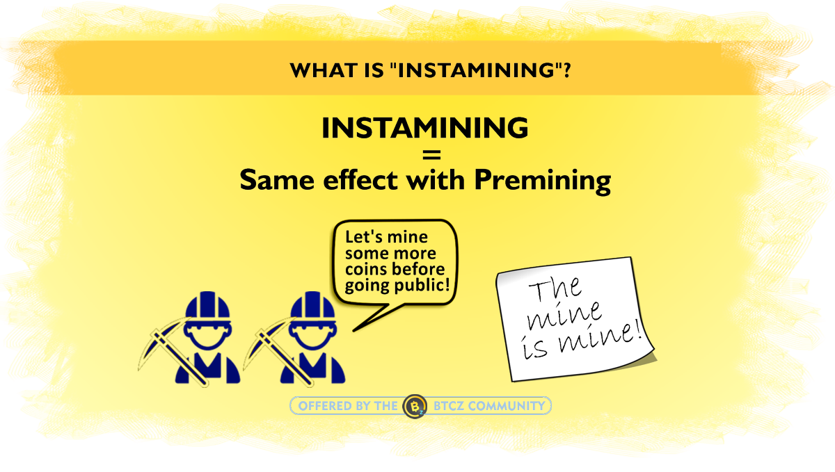 What is instamining cryptocurrencies