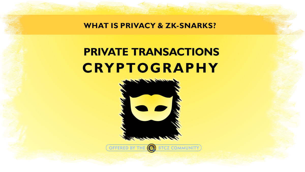 CRYPROCURRENCY PRIVATE TRANSACTIONS