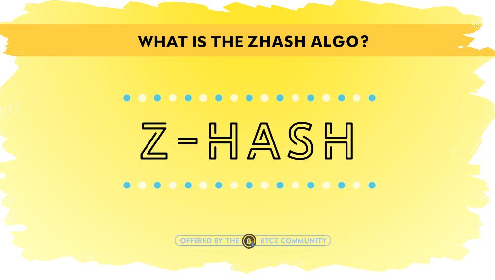 ZHash Equihash variant anti ASIC