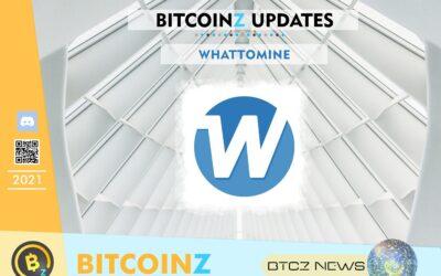 Whattomine Update for BITCOINZ