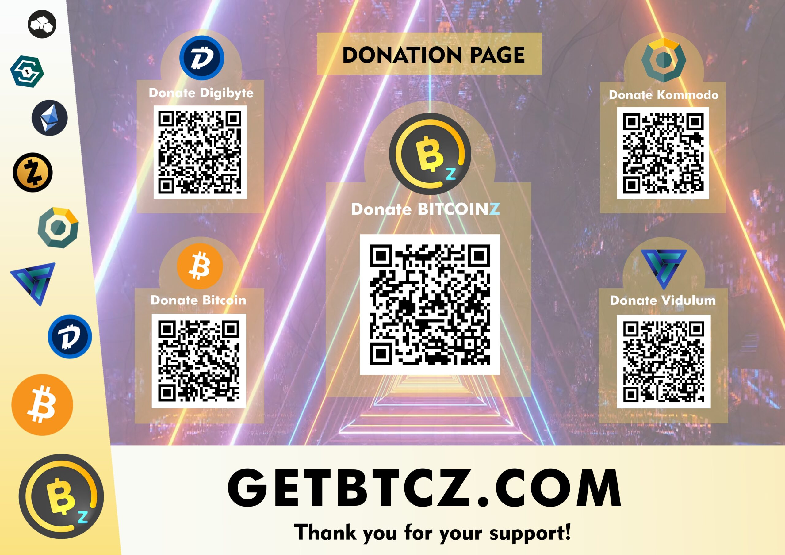 Donate BitcoinZ