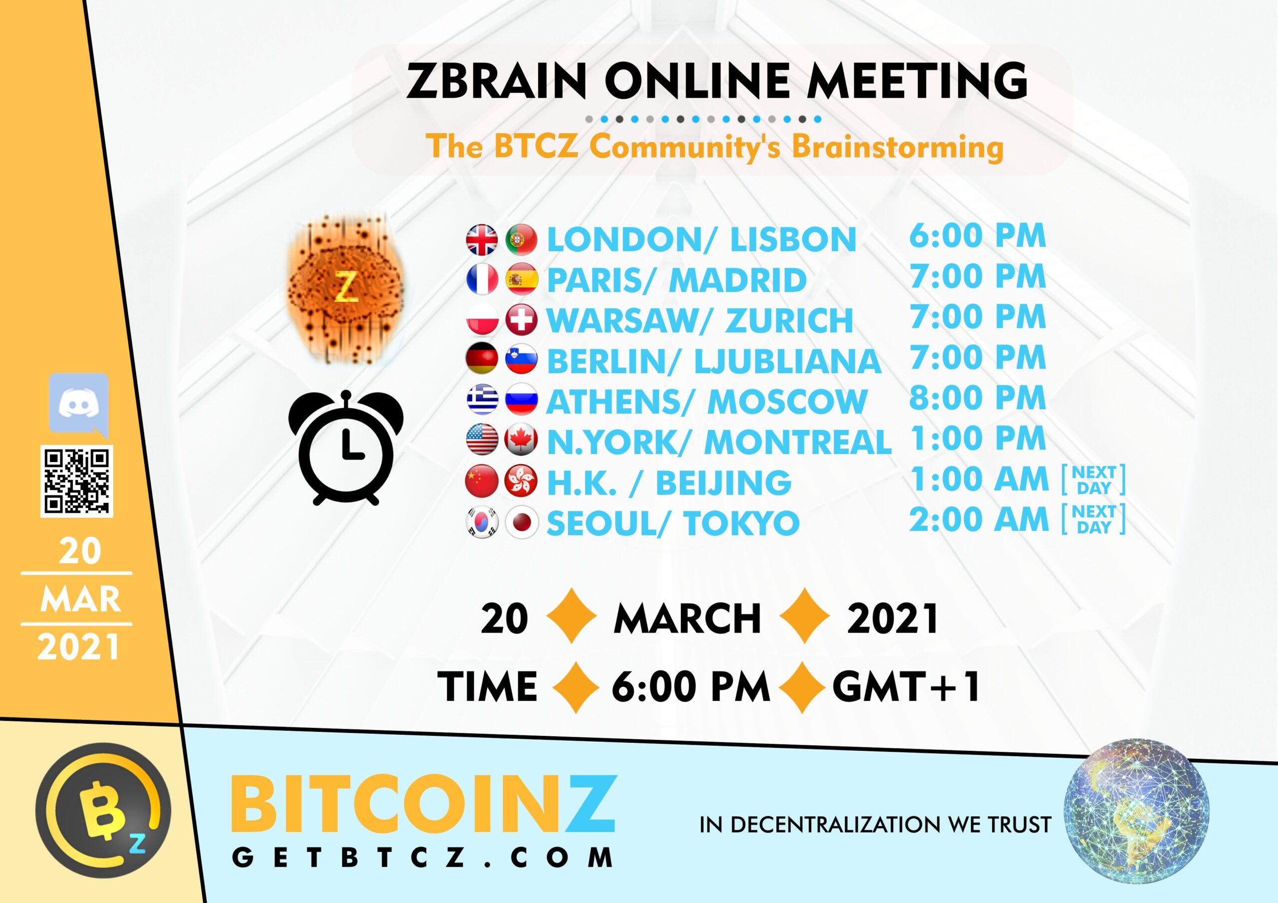 Z-Brain 20 March 2021