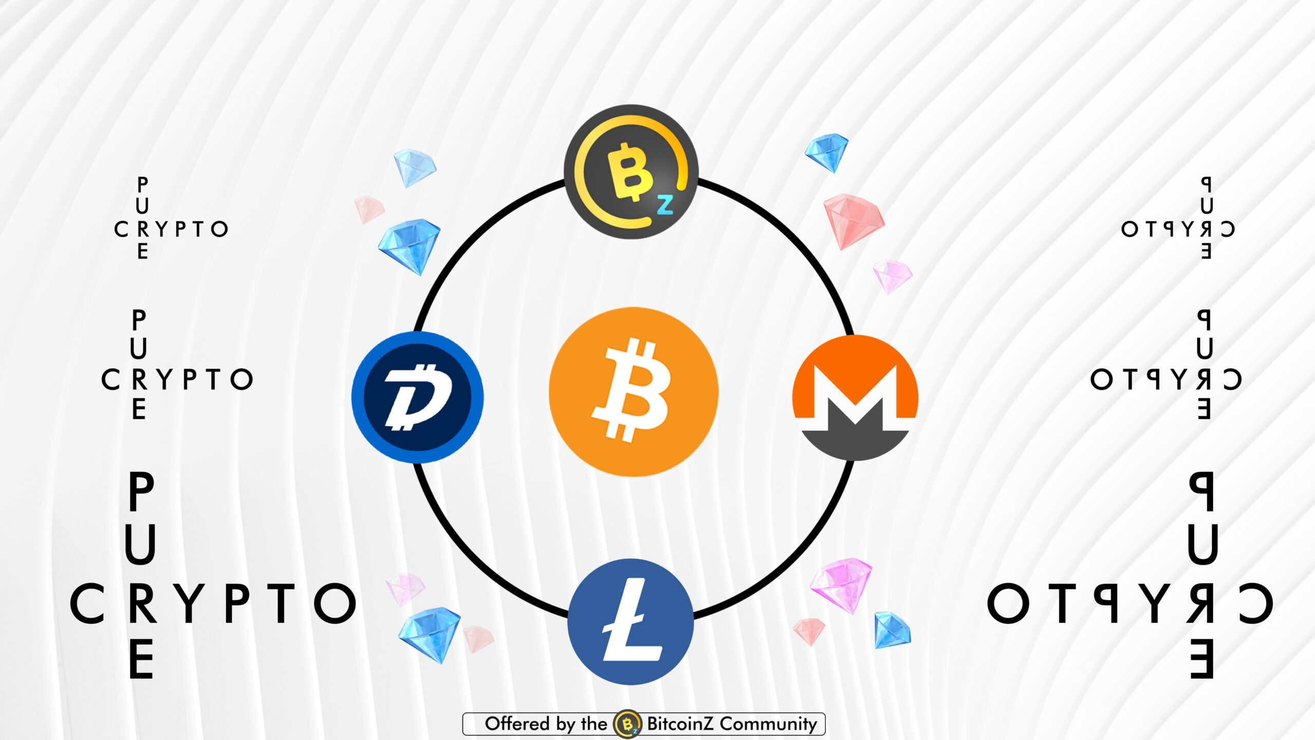 pure cryptocurrencies