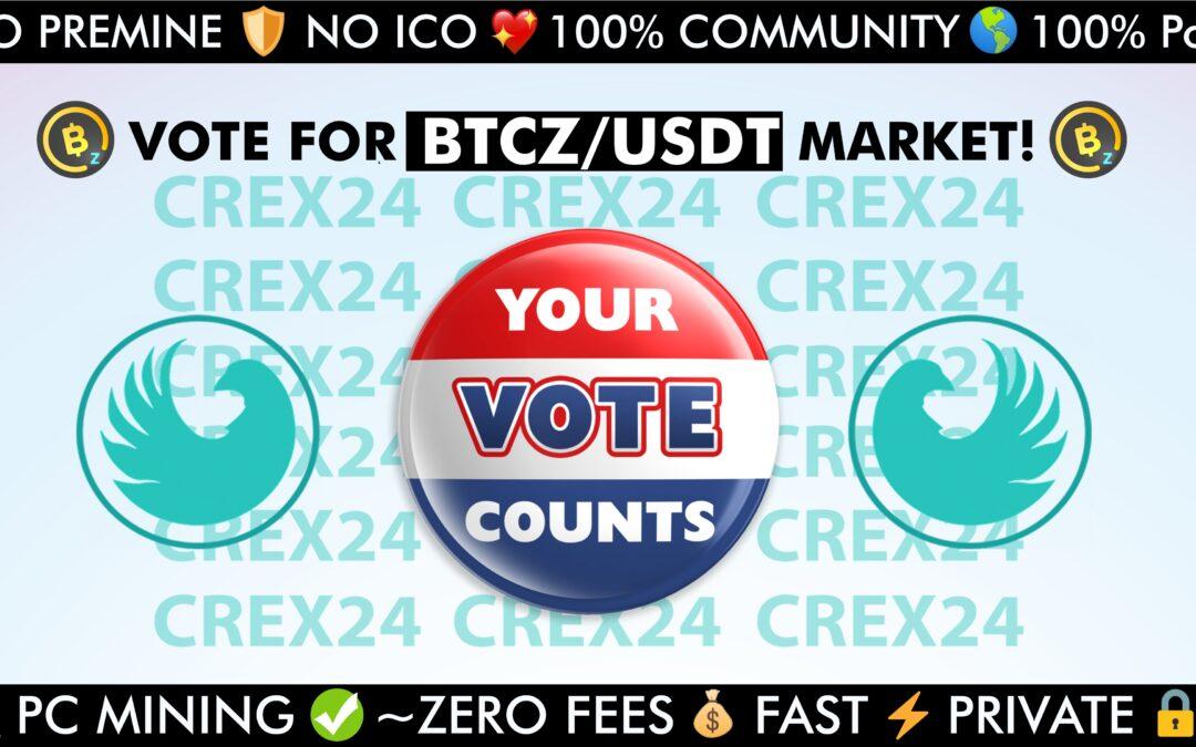 VOTE FOR BITCOINZ