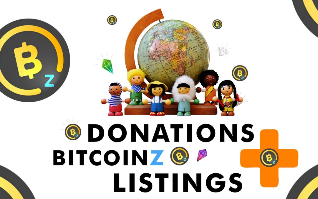 Donate for BITCOINZ Listings