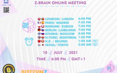 Invitation Links for Z-Brain