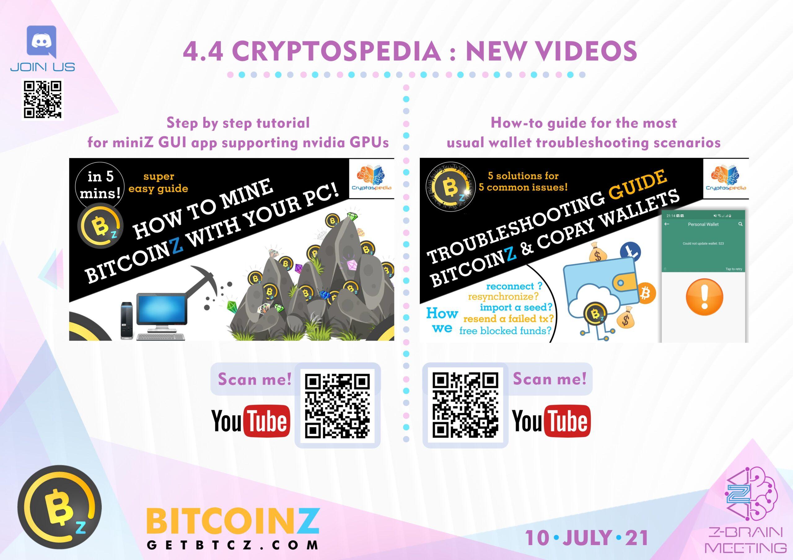 Cryptospedia Videos