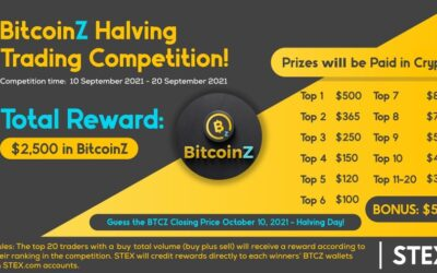 STEX Competition for BITCOINZ Halving!