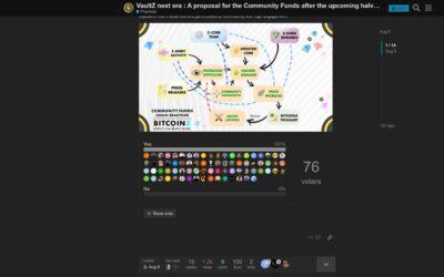 VaultZ Era2: 100% positive Community Vote!