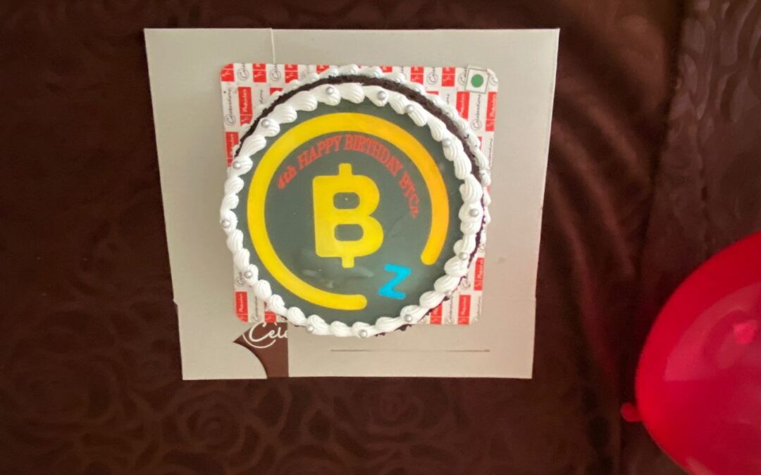 BITCOINZ Birthday Party in India!