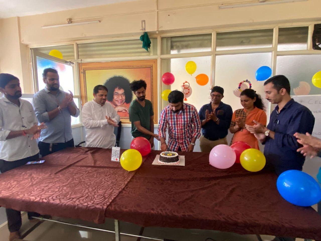 BITCOINZ BIRTHDAY CAKE