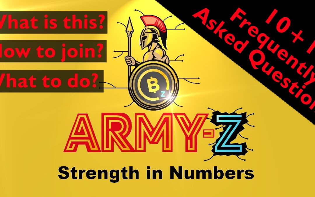 ArmyZ Frequently Asked Questions