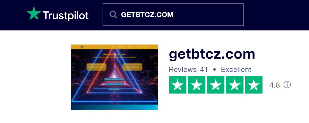BITCOINZ TrustPilot